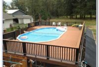 Above Ground Pool Wood Decks Pictures