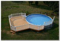 Above Ground Swimming Pool Deck Design Ideas