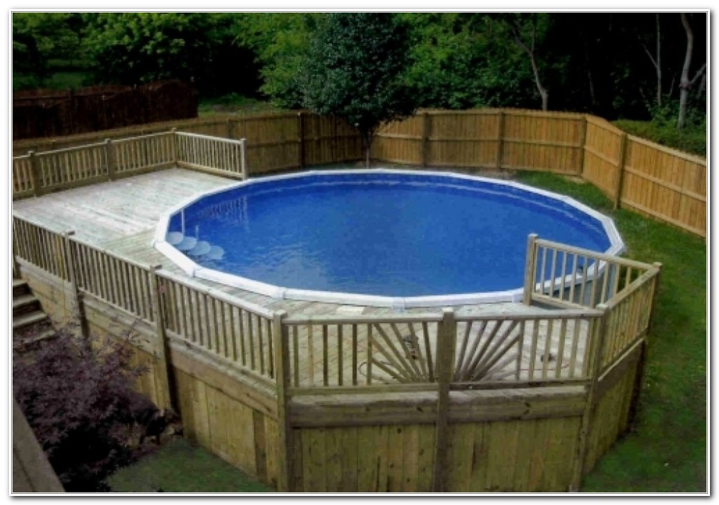 Above ground swimming pool deck images decks home for Above ground pool decks images