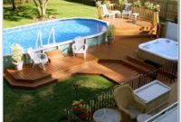 Above Ground Swimming Pools With Wooden Decks
