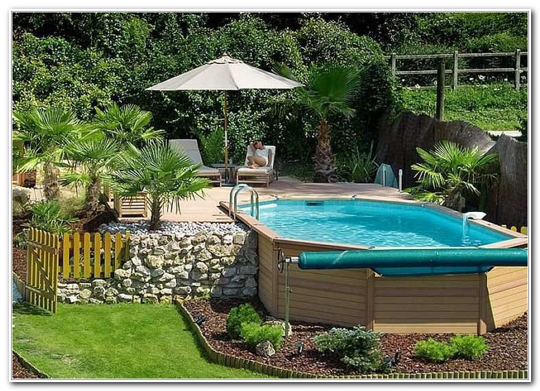 Above Ground Wooden Pool Deck Kits