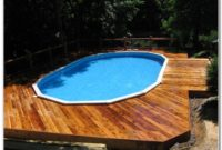 Above The Ground Pool Decks