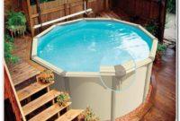 Best Above Ground Pool Deck Ladder