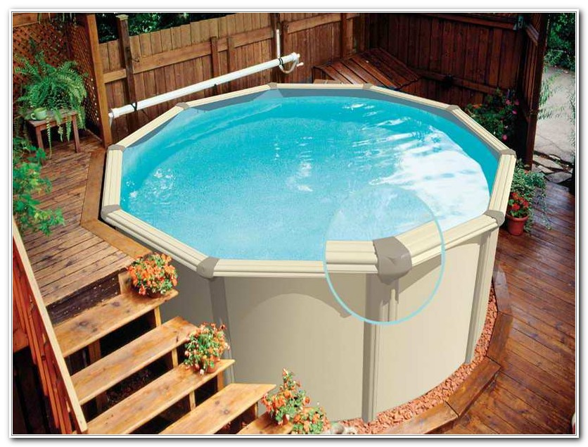 Best Above Ground Pool Deck Ladder - Decks : Home Decorating Ideas ...
