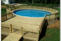 Best Above Ground Pool Deck Material