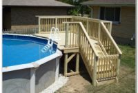 Build A Small Pool Deck