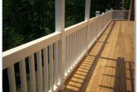 Cedar Deck Railing Plans
