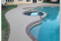 Concrete Pool Deck Ideas