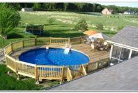 Deck Around Above Ground Pool Plans