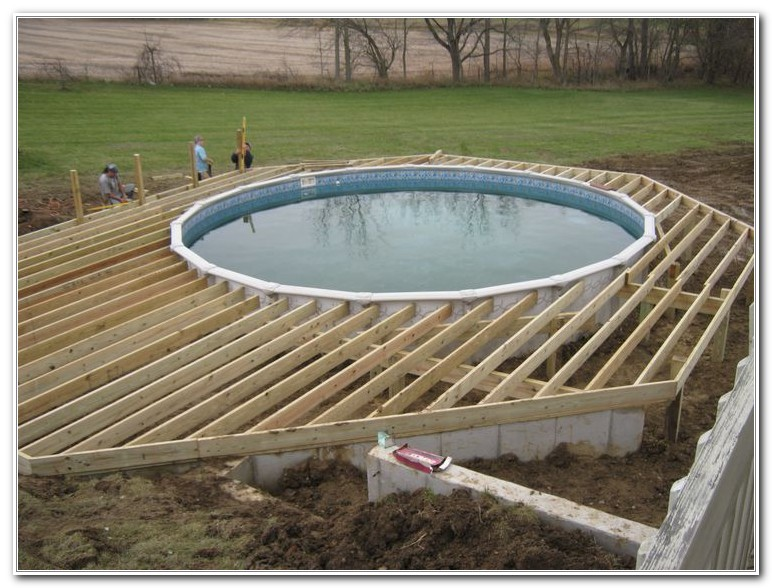Deck For Above Ground Pool Diy