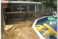 Deck Plans For Above Ground Pools
