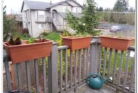 Deck Railing Flower Boxes Plans