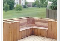 Deck Storage With Seat