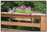 Flower Boxes For Decks Railings