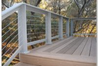 Horizontal Wood Deck Railing Designs