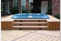 Hot Tub Deck Design