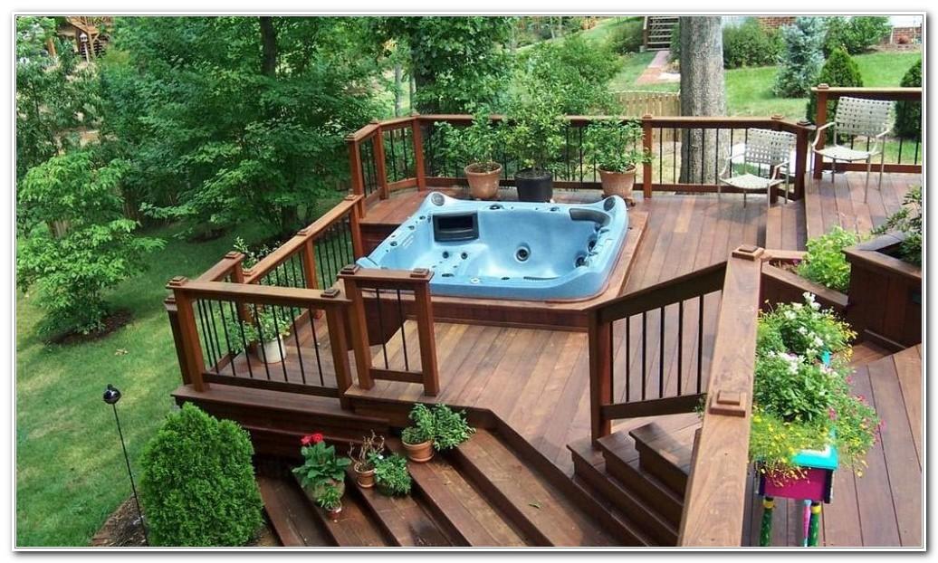 Deck With Hot Tub Designs Mycoffeepot Org