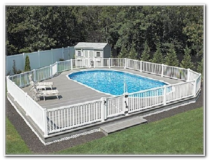In Ground Pool Deck Plans