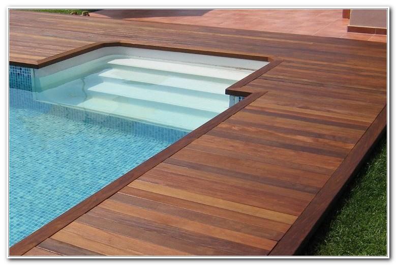 Inground Pool Deck Design Ideas - Decks : Home Decorating ...