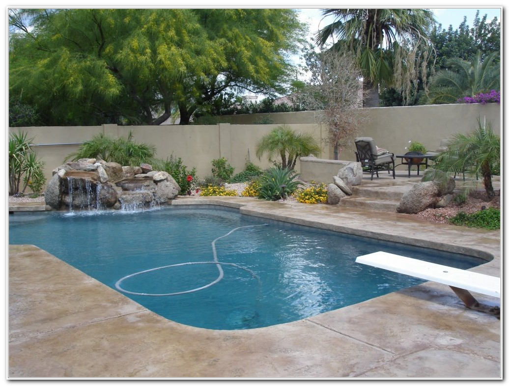 Inground Swimming Pool Deck Designs - Decks : Home ...
