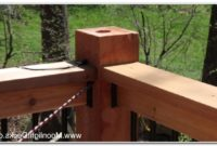 Low Voltage Deck Post Lighting
