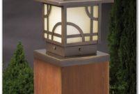 Low Voltage Deck Post Lights