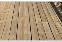 New Pressure Treated Deck Stain