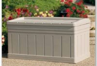 Outdoor Deck Box With Seat