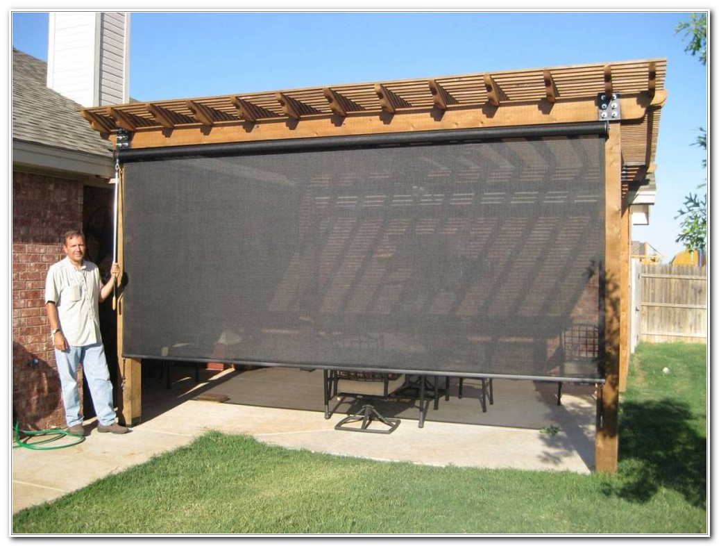 Outdoor Privacy Shades For Patio