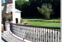 Outdoor Wrought Iron Railings Deck