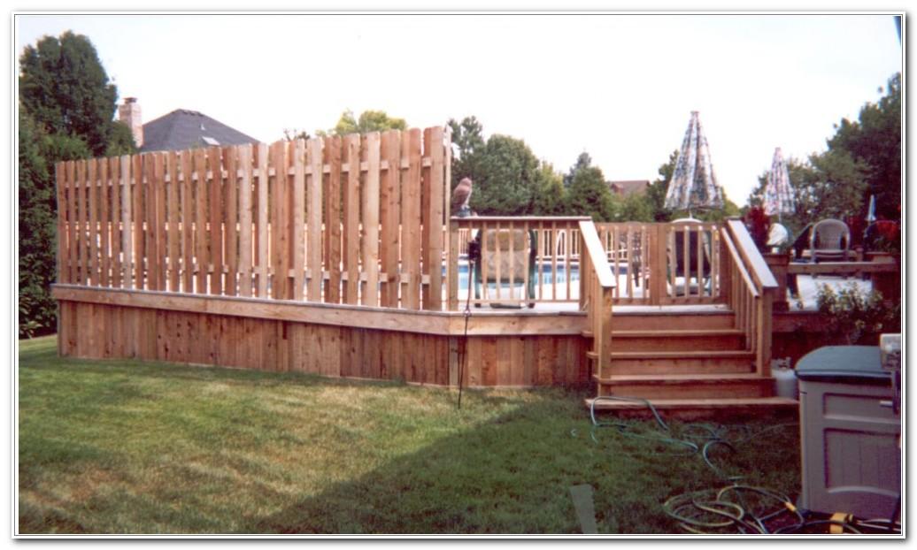Oval Pool Deck Plans Free Decks Home Decorating Ideas Qmk07onw69