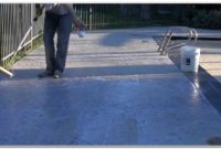Paint Or Stain Concrete Pool Deck