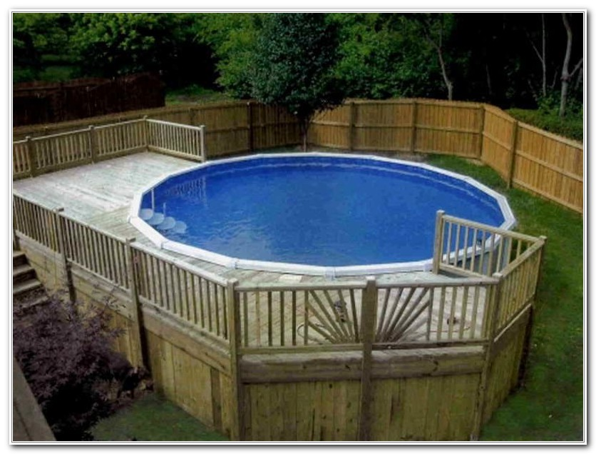 Pool Deck Designs For Above Ground Pools