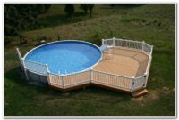 Pool Decks Above Ground Plans