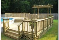 Pool Decks For Above Ground Pools Pictures