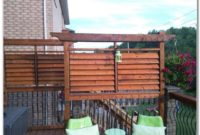 Privacy Railing For Deck