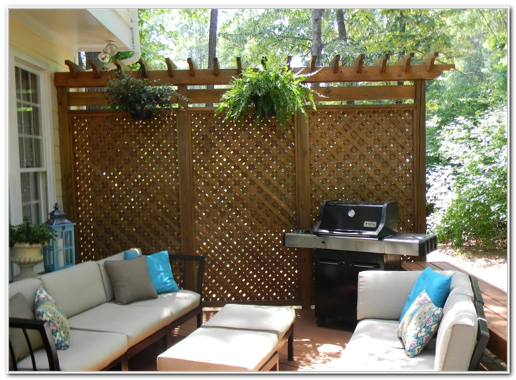 Privacy Screen For Deck Plans