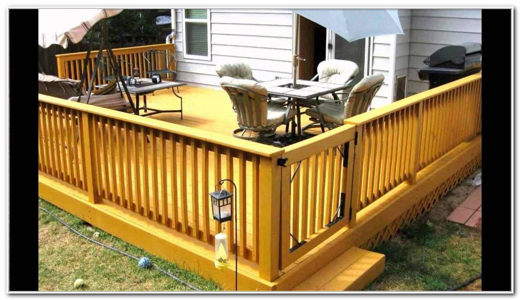 Railing Ideas For A Deck