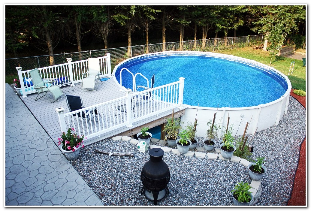 Resin Pool Decks For Above Ground Pools - Decks : Home Decorating ...