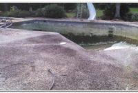 River Rock Pool Deck