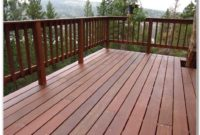 Simple Wood Deck Railing Designs