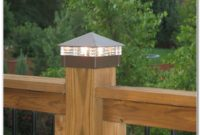 Solar Deck Post Lighting