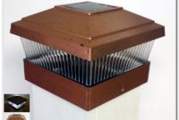 Solar Deck Post Lights 5x5