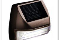 Solar Deck Step Lights