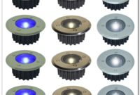 Solar Led Deck Lights Blue