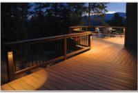Solar Lighting For Deck Post