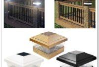 Solar Powered Deck Post Cap Lights