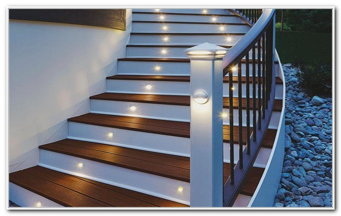 Solar Ed Deck Step Lighting Decks Home Decorating