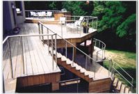 Stainless Steel Cable Deck Railing Ideas