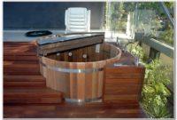 Sunken Hot Tub Deck Design
